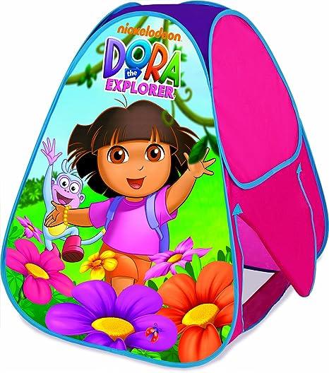 Nickelodeon Dora Classic Hideaway PlayHut Kid/'s Play Tent EZ Setup NEW