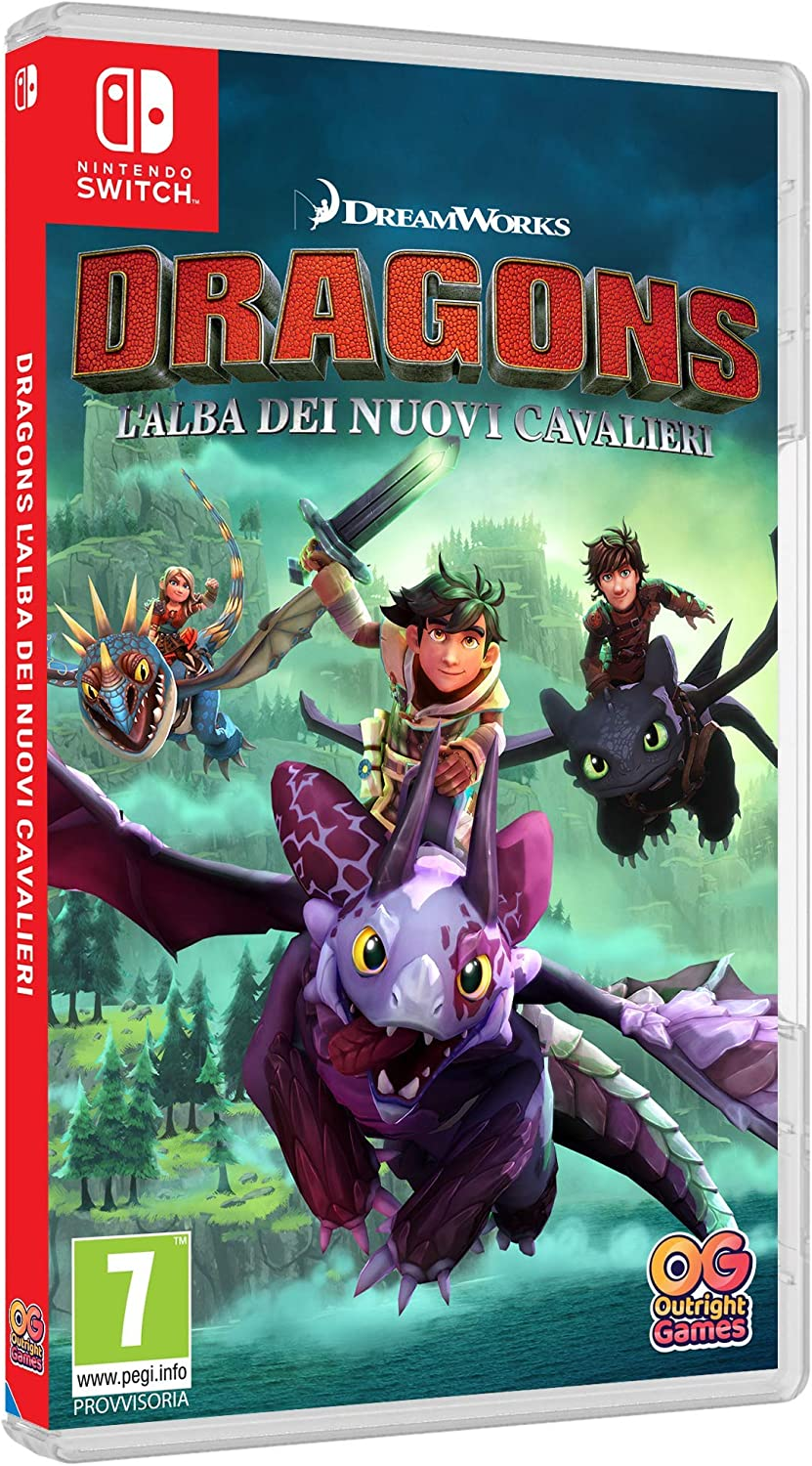 DRAGONS: LALBA DEI NUOVI CAVALIERI - - Nintendo Switch ...