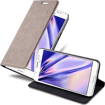 Cadorabo Funda Libro para Samsung Galaxy J5 2016 en MARRÓN CAFÉ ...