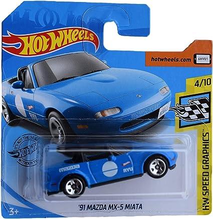 Hot Wheels 1999 X-Treme Speed Series blue Mazda MX-5 Miata Die Cast Car #4//4 1:64 Scale Mattel