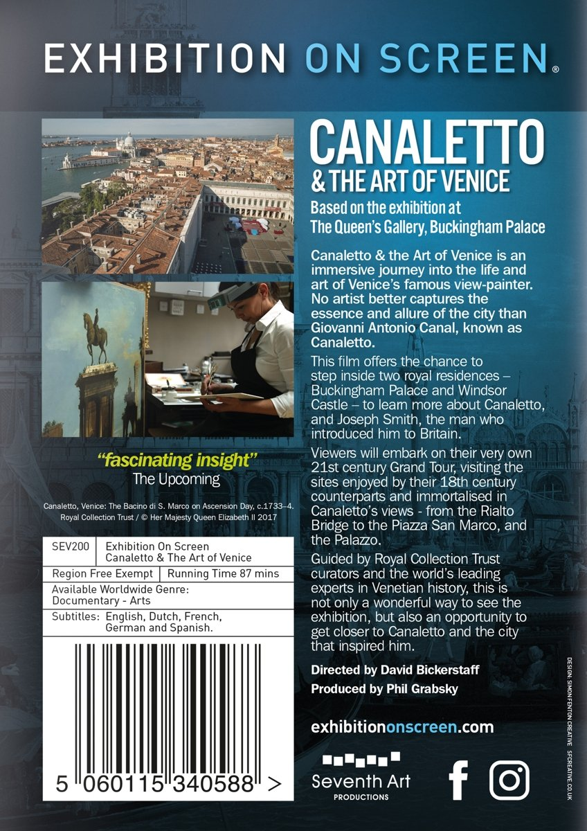 3060893d20722 Amazon.com: Exhibition on Screen: Canaletto and the Art of Venice ...