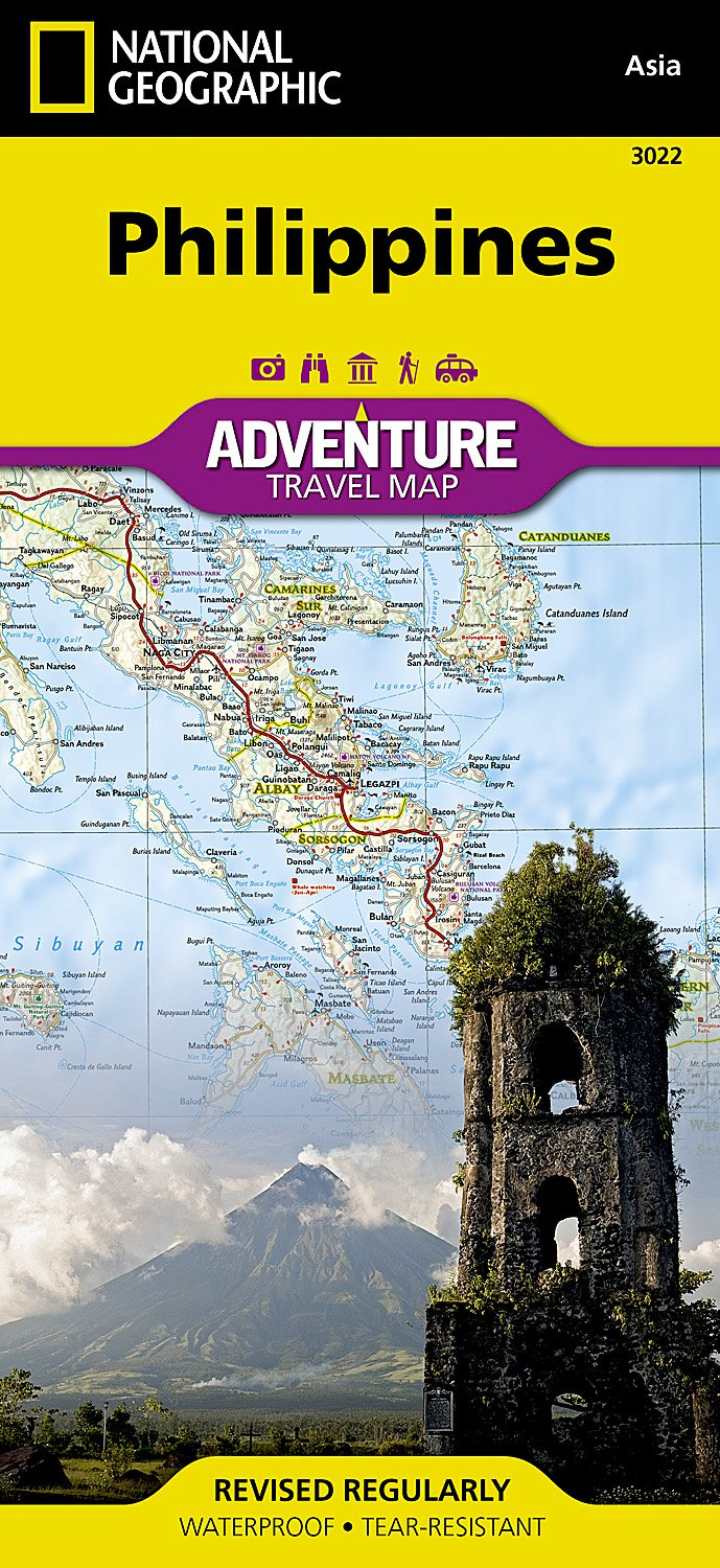Philippines Adventure Travel Map (National Geographic Adventure Map, Band 3022)