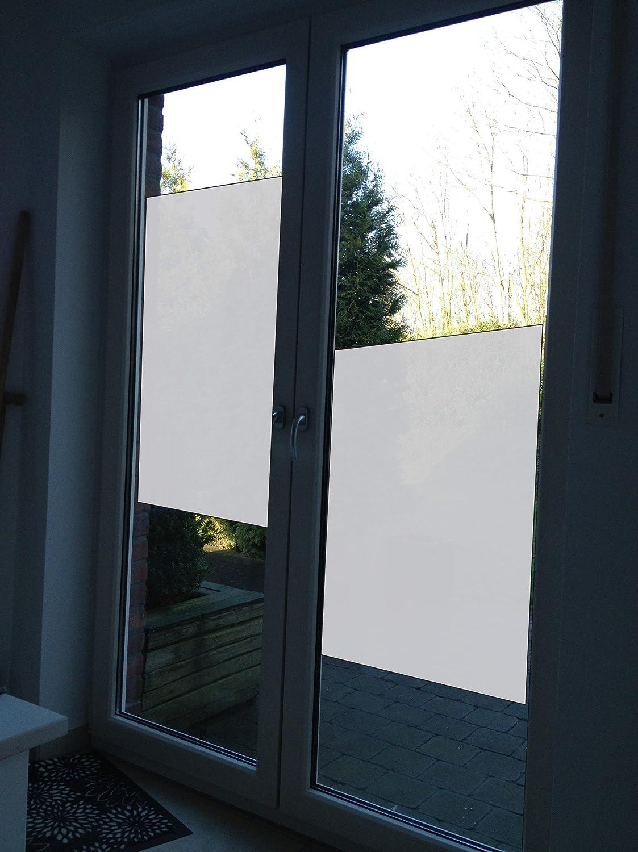 Milchglasfolie Milchglas Fensterfolie Dekorfolie Amazon De