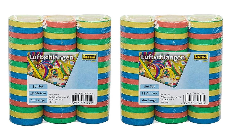 mehrfarbig Idena 8274021 Luftschlangen