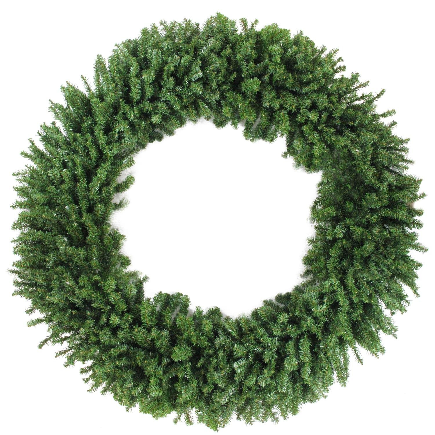 36'' Royal Oregon Long Needle Pine Artificial Christmas Wreath – Unlit