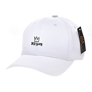 faf171e9 WITHMOONS Baseball Cap Jean-Michel Basquiat Crown Embroidery CR1701  (White): Amazon.co.uk: Clothing
