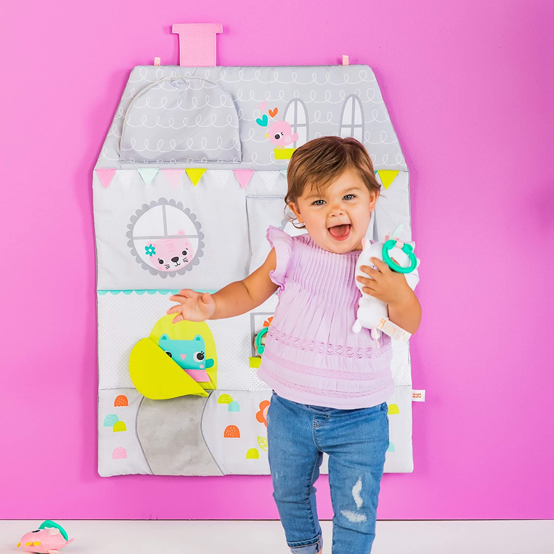 Bright Starts Floors of Fun Activity Gym /& Dollhouse Newborn