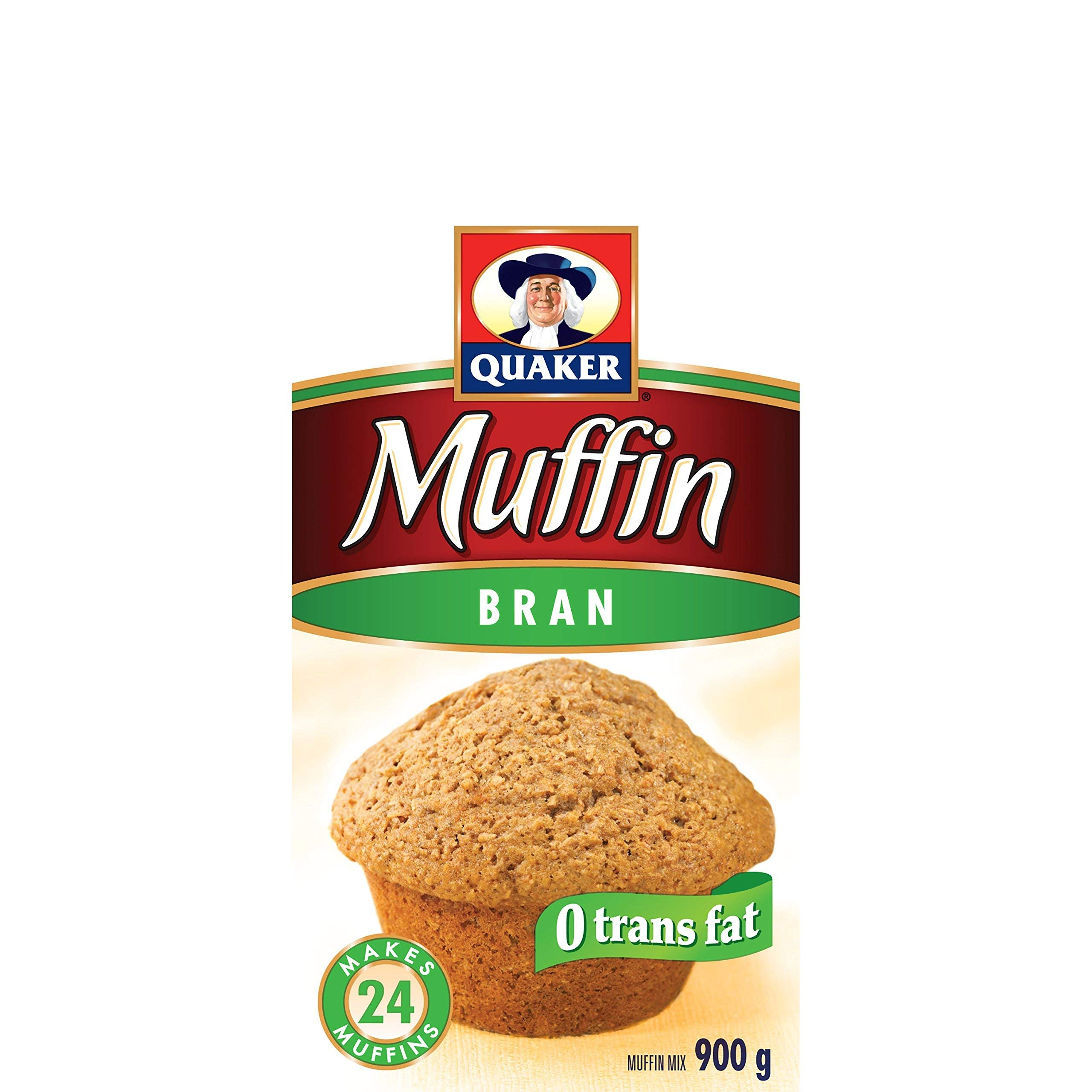 Quaker Muffin Mix Bran, 12ct, 900g, Imported from Canada}