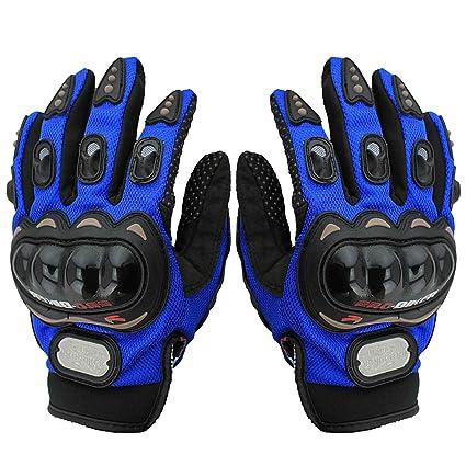 Adroitz Pro Biker Full Finger Bike Riding Gloves for Mens (Size-L ...