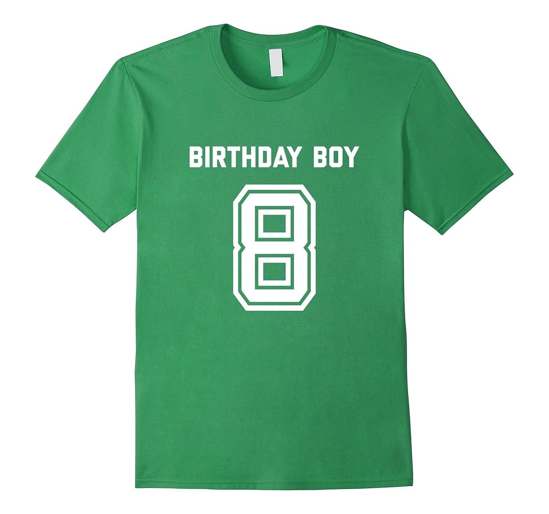 8th Birthday Shirt Gift Age 8 Year Old Boy Tshirt Boys Tee Gm