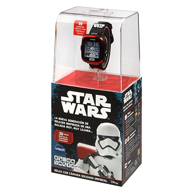 VTech Multifunction Clock – Star Wars, Trooper Black (80 – 194227)