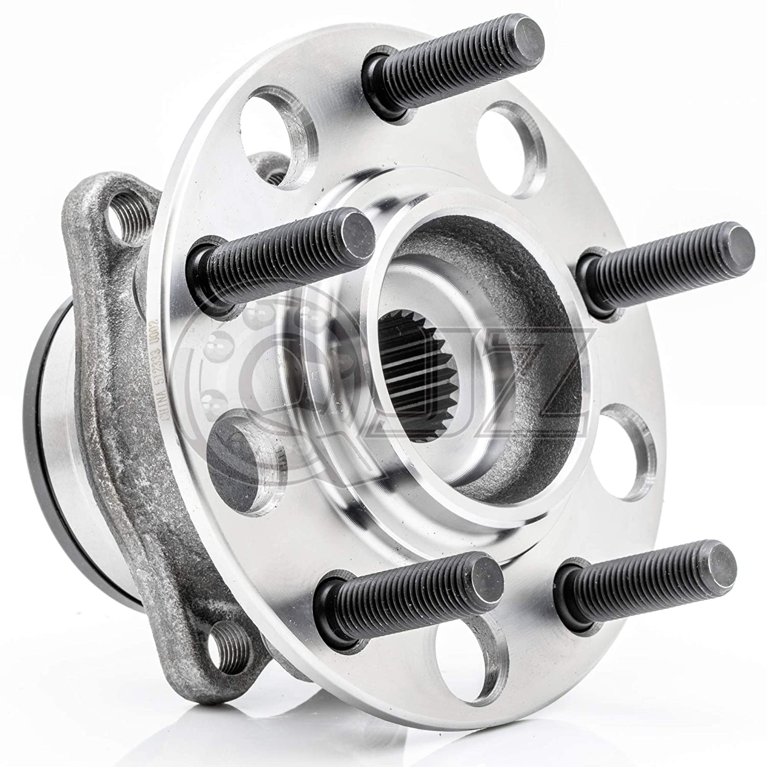 512333 New Rear Wheel Hub /& Bearing Assembly for Dodge 2007-2008 Caliber 4x4 // 4WD Model Jeep 2007-2017 Compass 4x4 // 4WD Model Patriot 2007-2017 4x4 // 4WD Model QJZ 2-Pack//Pair