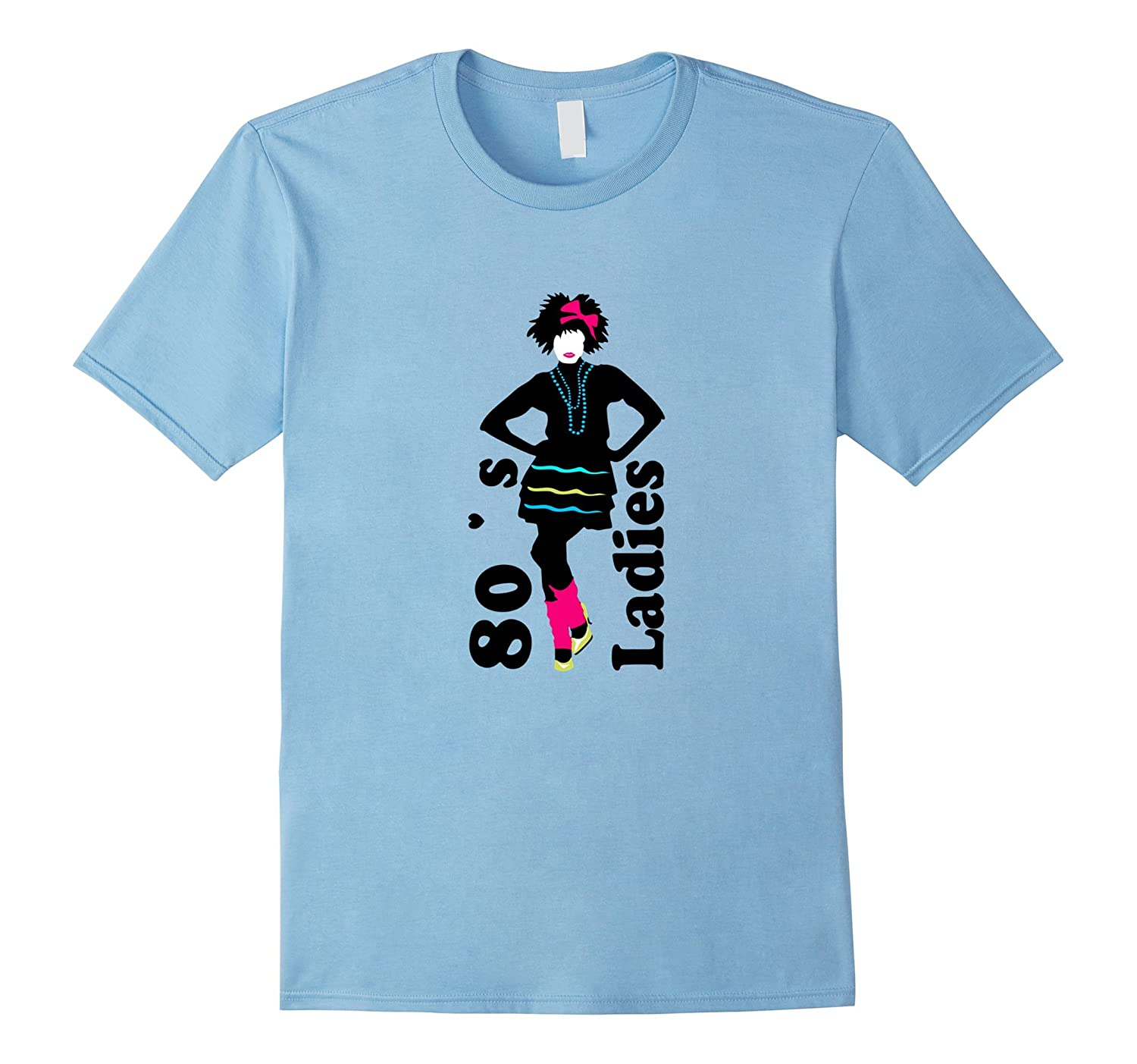 80's Ladies T- Shirt 1980s Retro Women's Clothing & Apparel-Art