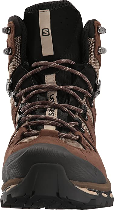 Salomon Men's Quest 4D 2 GTX Lightweight & Durable Leather Canvas Hiking Boots