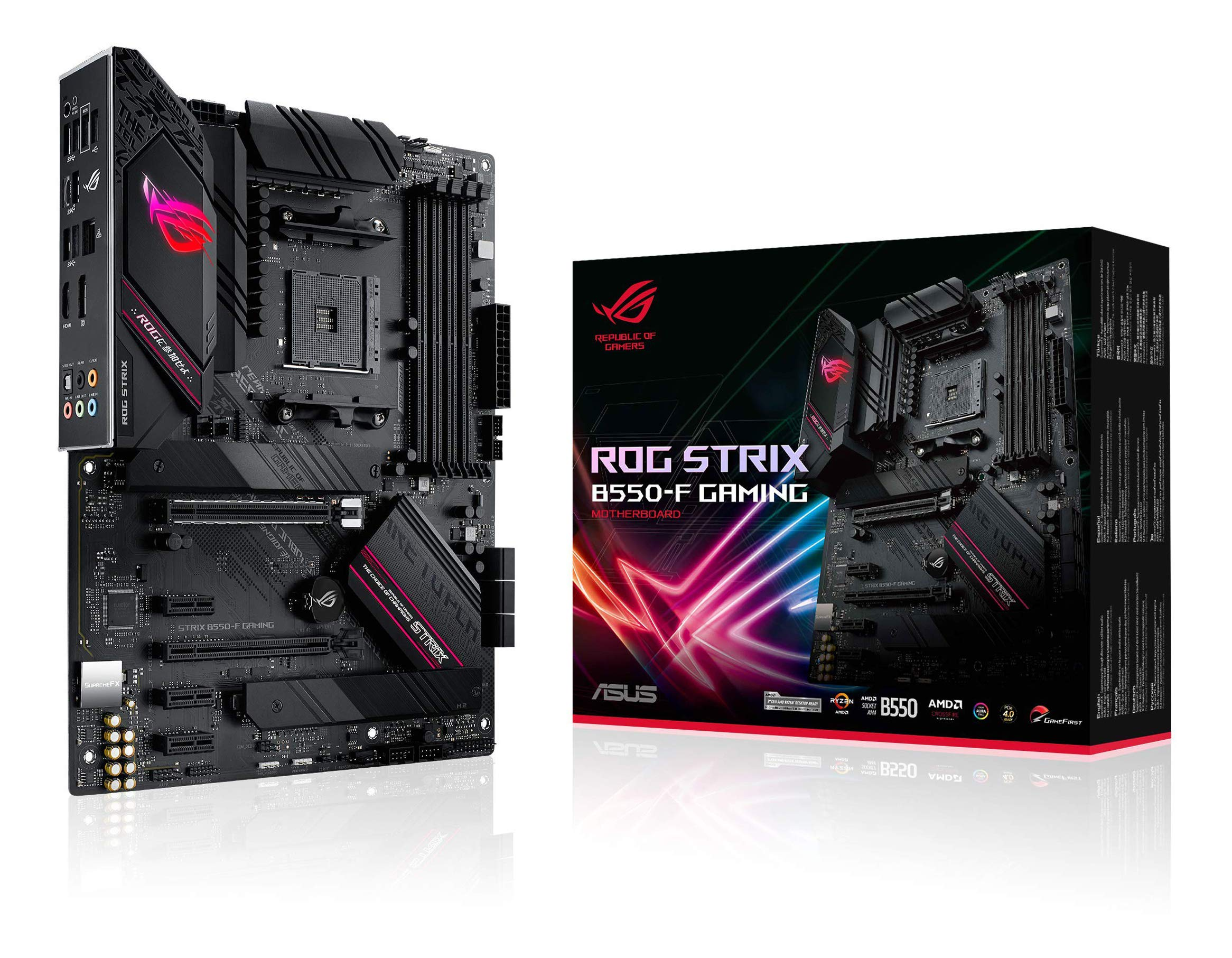 Motherboard ASUS ROG STRIX B550-F GAMING Socket AM4