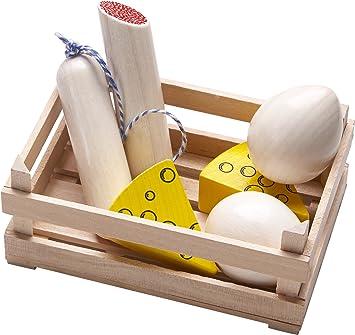 Haba 300564 Kaufladen-Set Brot und Brötchen