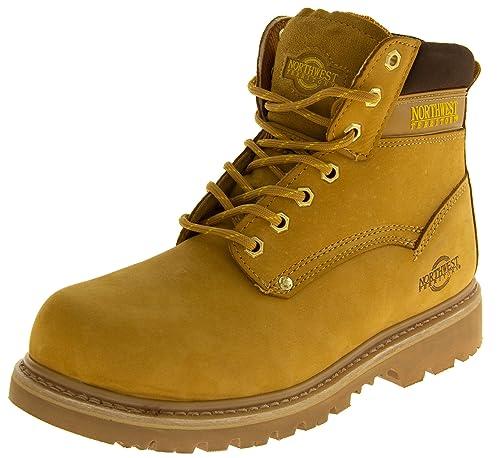 Footwear Studio - Calzado de protección de forro: fibra sintética para hombre, color,