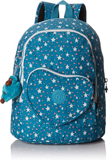 Kipling Heart Backpack Mochila Infantil, 32 cm, 9 Liters, (Cool Star Girl): Amazon.es: Equipaje