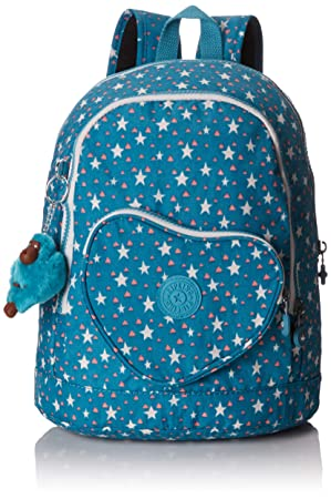 Kipling Heart Backpack Mochila Infantil, 32 cm, 9 Liters, (Cool Star Girl): Amazon.es: Equipaje