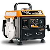 TogoPower Portable Generator 1000 Peak Watts 120 Volts Gasoline Powered - CARB Compliant for Backup Home Use&Camping-Small Po