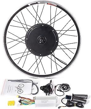LOLTRA MTB Kit de conversión de una Sola Rueda para Bicicleta eléctrica de montaña de 36