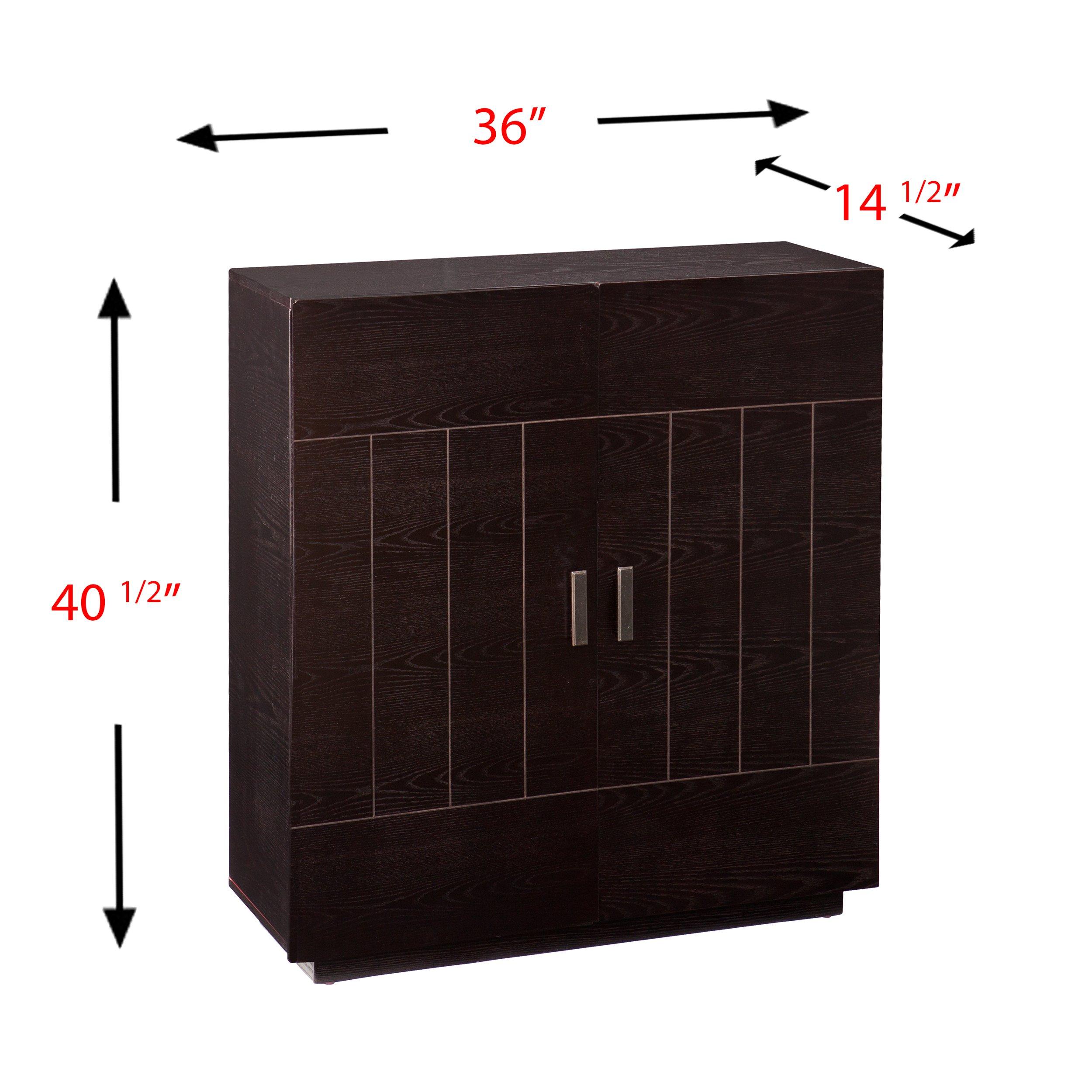 Southern Enterprises AMZ7401ZH Marc Bar Cabinet by Southern Enterprises (Image #3)