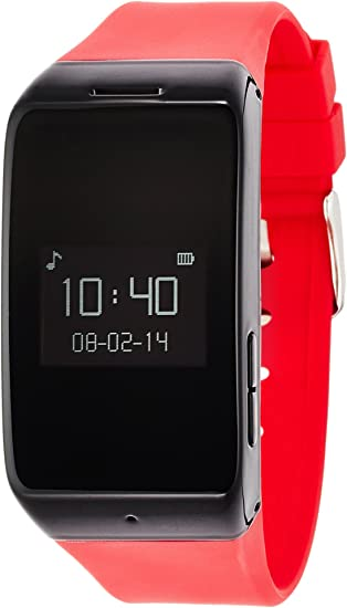 Amazon.com: MyKronoz Zewatch Smart Watch - Red