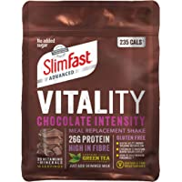 SlimFast Vitality High Protein Meal Replacement Powder Shake, Chocolate Intensity Powder, 400 g