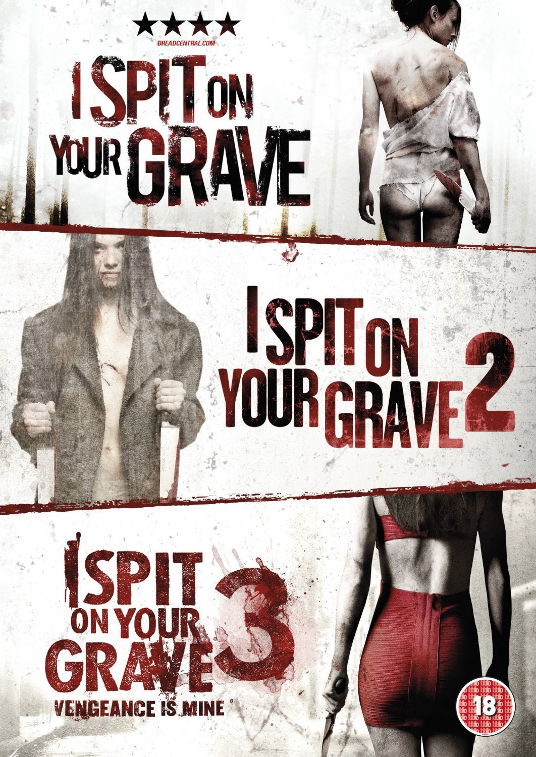 I Spit On Your Grave I Spit On Your Grave 2 I Spit On Your Grave3 Dvd Buy Online In China At China Desertcart Com Productid 54510161