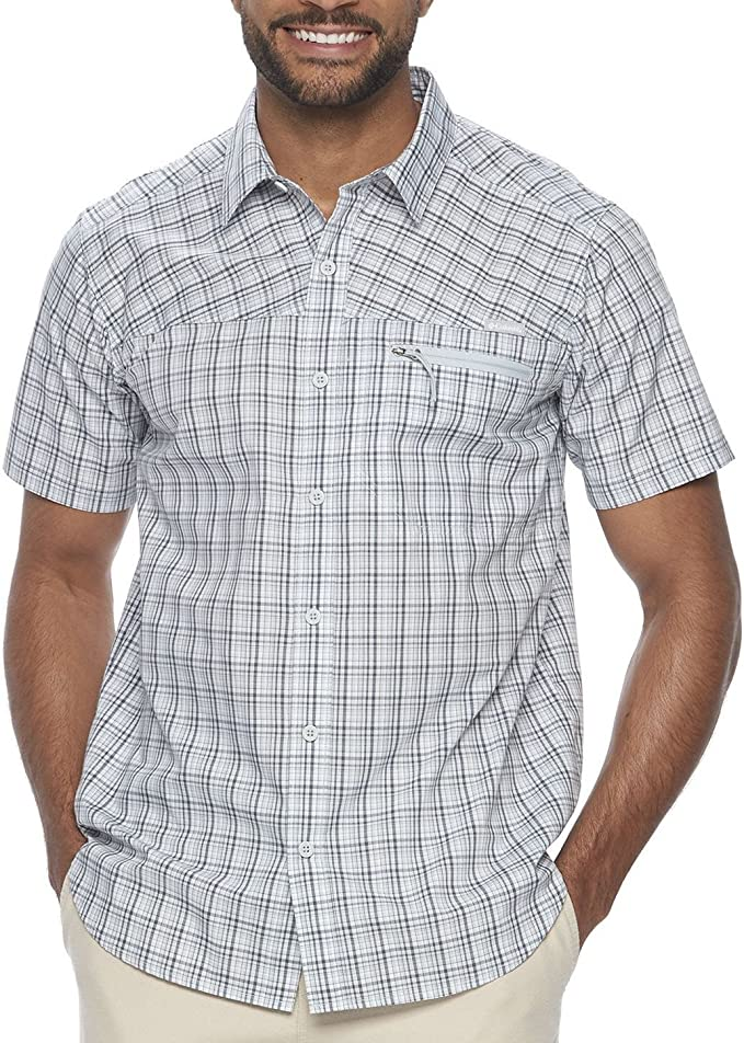 Columbia Men SS Shirt Various Sizes Sycamore Falls Button Down Style XM1698