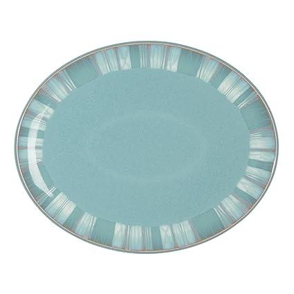 Denby Azure Coast Oval Platter  sc 1 st  Amazon.com & Amazon.com: Denby Azure Coast Oval Platter: Kitchen \u0026 Dining