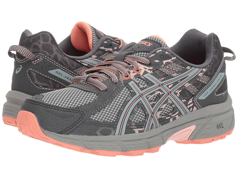 [アシックス] レディースランニングシューズスニーカー靴 GEL-Venture 6 Steel Blue/Pink Cameo 5 (22cm) B - Medium [並行輸入品] B07FS667YX Carbon/Mid Grey/Seashell Pink 23.5 cm B 23.5 cm B|Carbon/Mid Grey/Seashell Pink