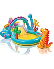 Intex 57135 - Playcenter Dinosauri, 333 x 229 x 112 cm