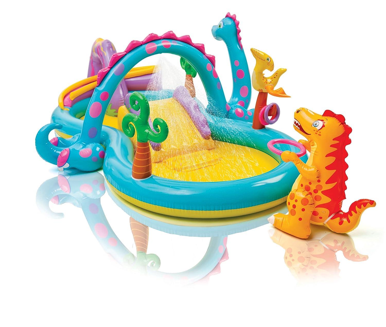 Intex Dinoland Play Center Planschbecken mit Rutsche