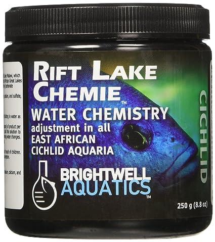 BRIGHTWELL AQUATICS 228g Rift Lake Chemie - Agua química para acuario de Cichlid de África oriental