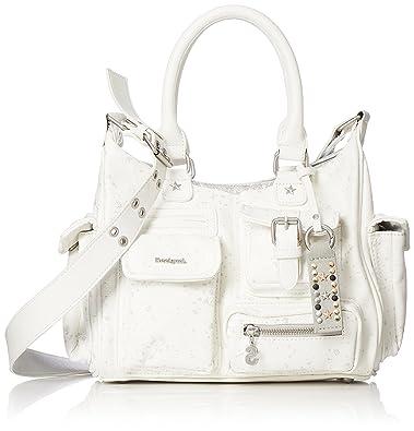 996630c35b1fd Desigual BOLS Metallic Splatter London Handle Bag 27 cm  Amazon.co ...