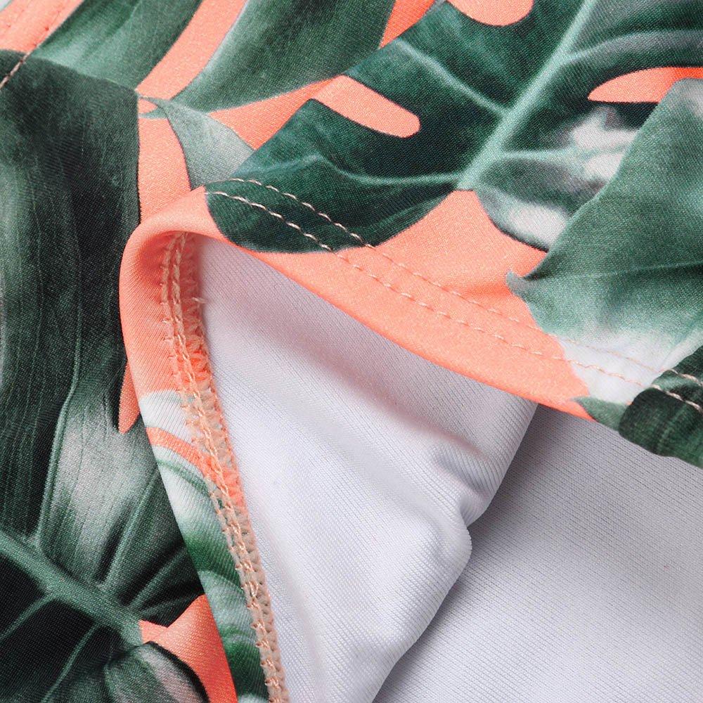 Culater Neonati Bambina Bimbi Ruffles Stampa 2 Pezzi Bikini Costume da Bagno per Bambini Costumi da Bagno Bikini Outfits