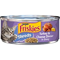 Purina Friskies Turkey And Cheese Cat Food, 5.50 Ounce