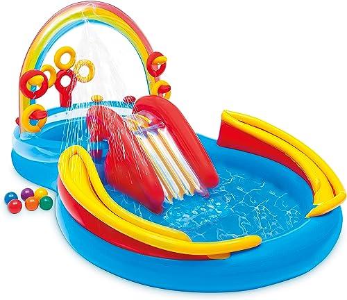 Intex-Rainbow-Ring-Inflatable-Play-Center,-117