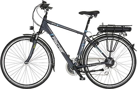 Fischer Proline ETH 1401 19143 - Bicicleta eléctrica para hombre, 24 marchas, 28