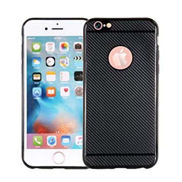 Funluna iPhone 6S Funda - Amortiguador de Parachoques con Fibra De ...