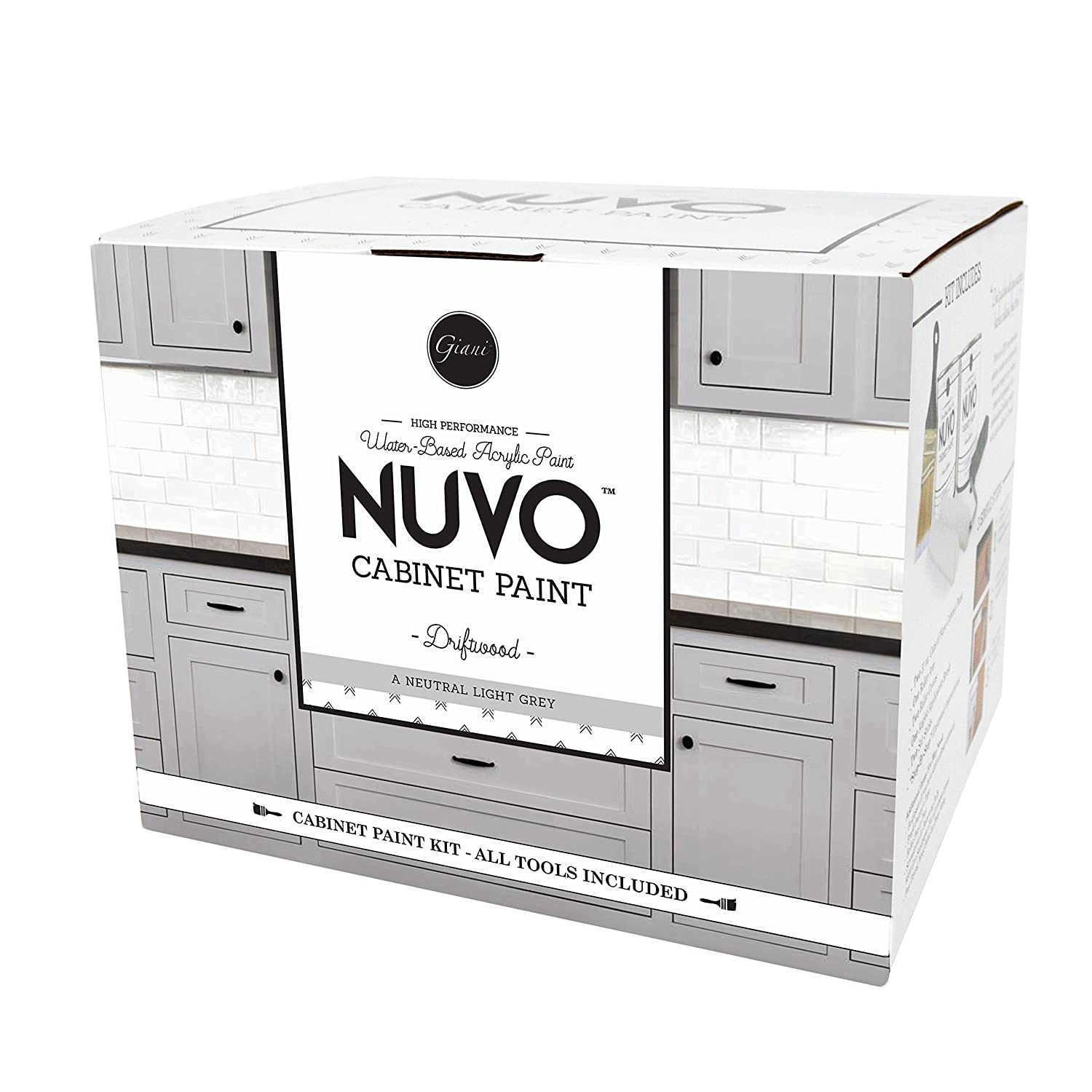 Nuvo driftwood 1 day cabinet makeover kit amazon com