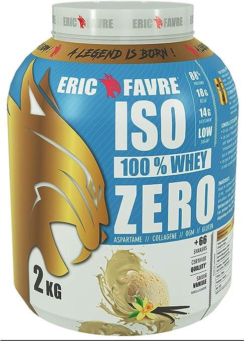 Eric Favre Iso 100% Whey Zero 2 kg - Vainilla