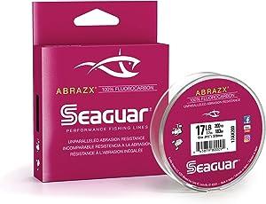 Seaguar Abrazx 100% Fluorocarbon 200 Yard