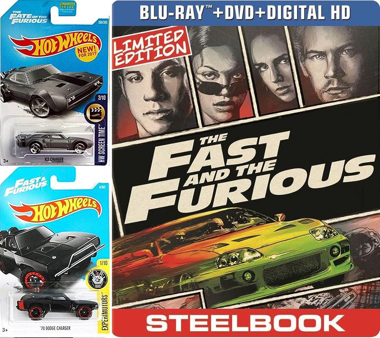 Amazon.com: Paul Walker Car Set THE FAST AND FURIOUS Steelbook DVD