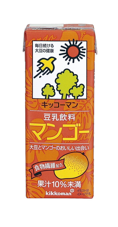 キッコーマンの豆乳飲料シリーズでカロリーが高い方に分類されるマンゴー味