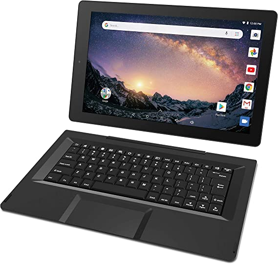 RCA Galileo 11.5 inches 32 GB Touchscreen Tablet Computer with Keyboard Case Quad-Core 1.3Ghz Processor 1GB Memory 32GB HDD Webcam WiFi Bluetooth Android 8.1 (11.5 inches