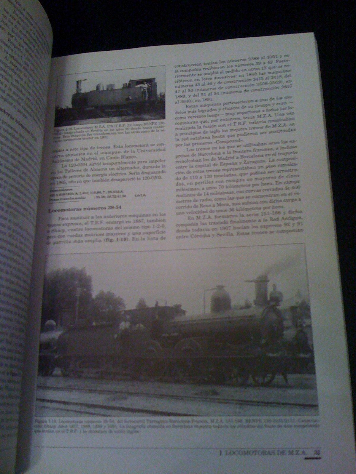 Historia de la traccion vapor en España I : locomotoras de m.z.a: Amazon.es: Fernando Fernandez Sanz, Reder: Libros