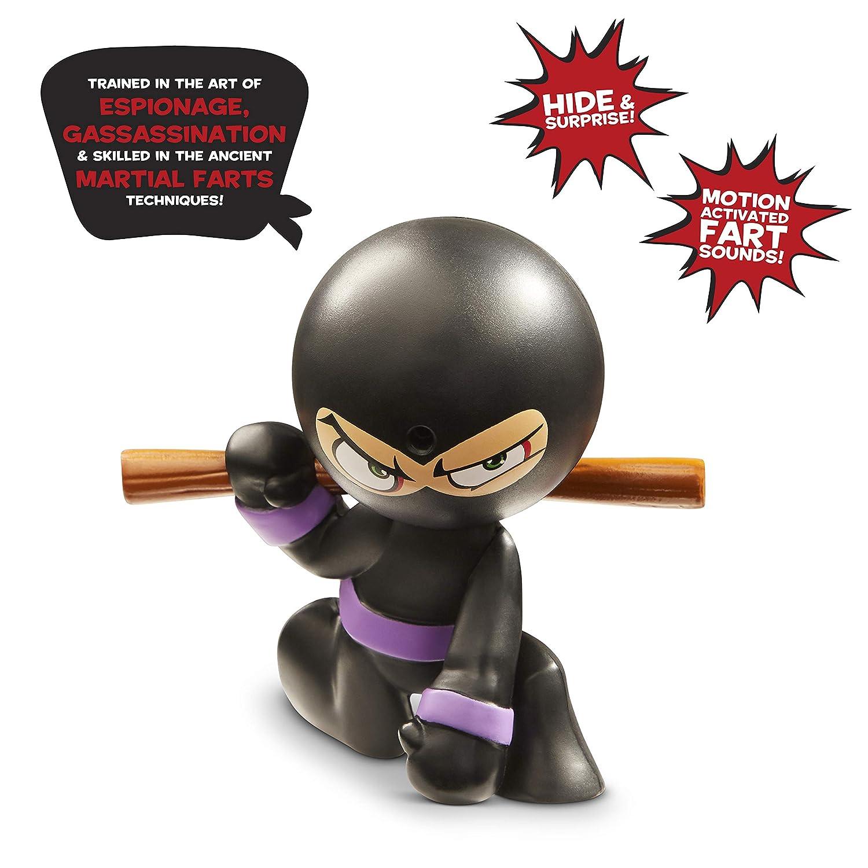 Fart Ninjas Stink FOO (Black/Purple) Juguete, Color Negro ...