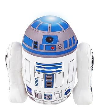 Star Wars R2d2 Plush Pal Night Light Soft Toy By Go Glow Amazon Co